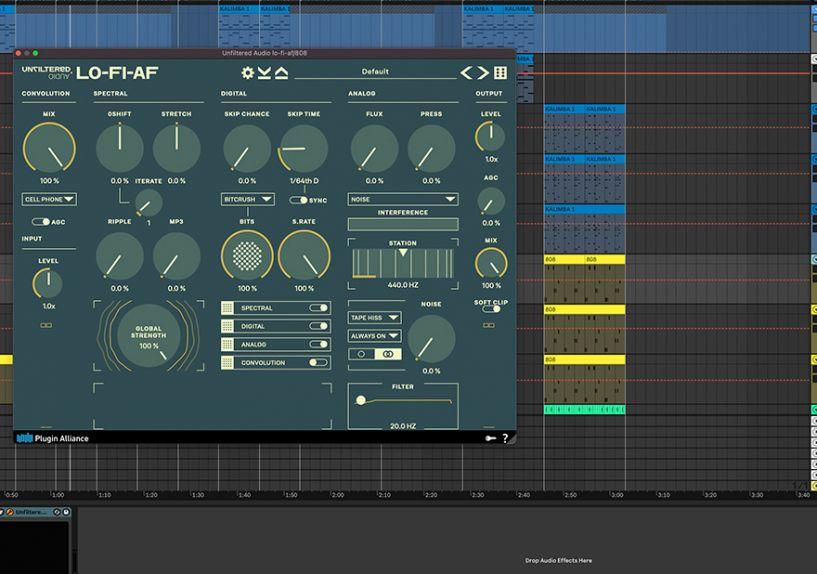 LO-FI-AF interface