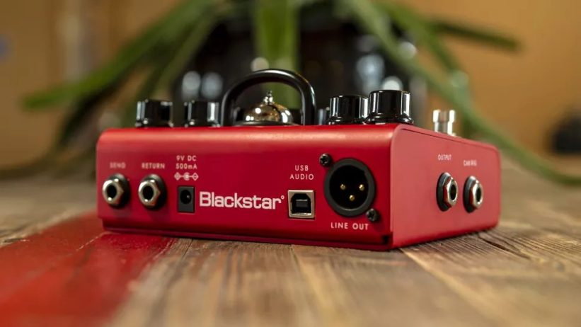 Blackstar Dept 10 rear panel connectivity