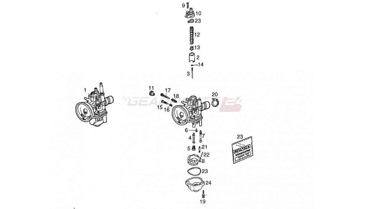 Originalersatzteil Gasschieber (00H03201211)