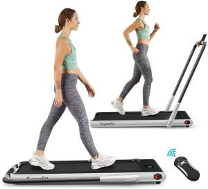 GoPlus Two In One Folding Treadmill