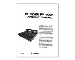 Yamaha PM-1000 Factory Service Manual [YAM-PM1000-MAN