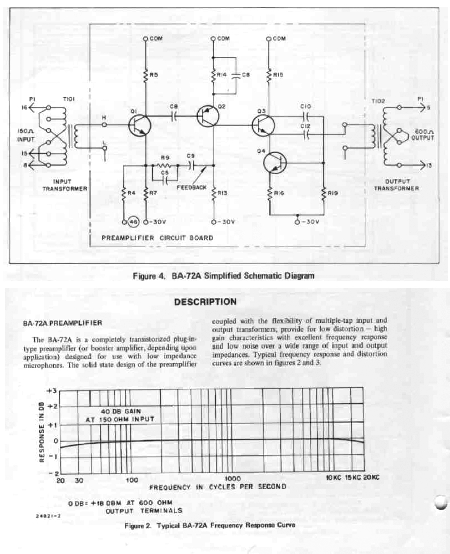 Need To Find An Rca Ba72 A Preamp Schematic