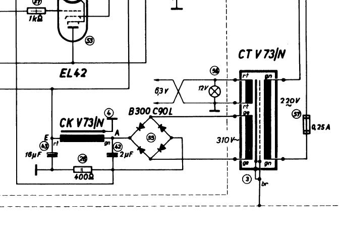 TAB/Maihak V73 tube amp noise. Change oil caps next