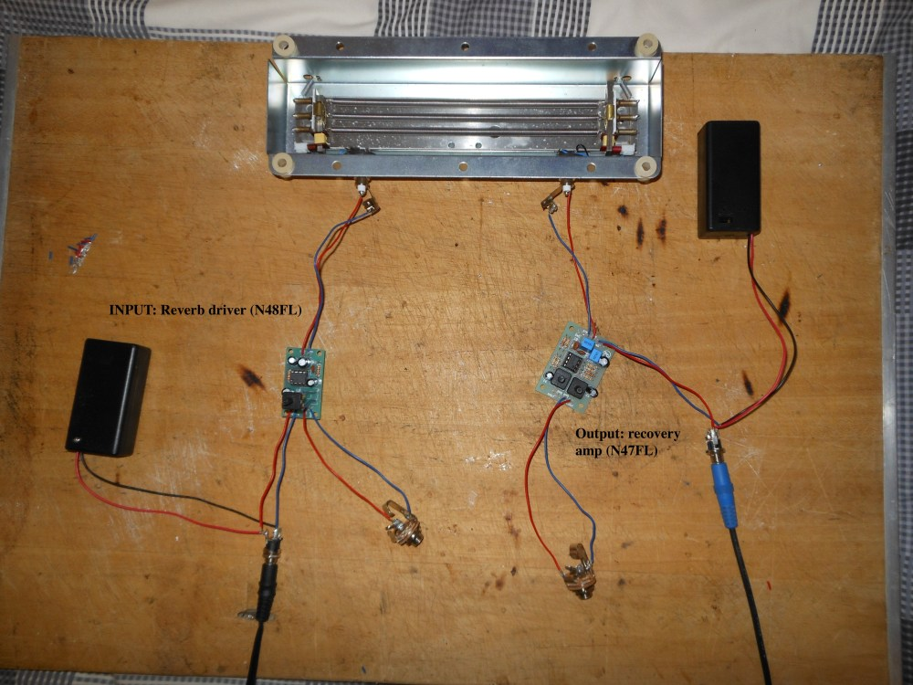medium resolution of help with building a spring reverb unit project jpg