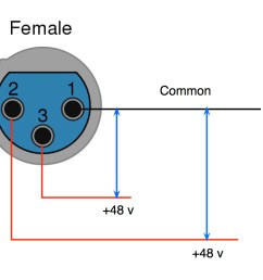 negative value on phantom power supply ok xlr phantom power jpg [ 1021 x 798 Pixel ]