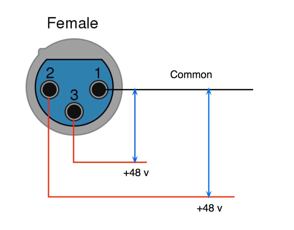 medium resolution of negative value on phantom power supply ok xlr phantom power jpg