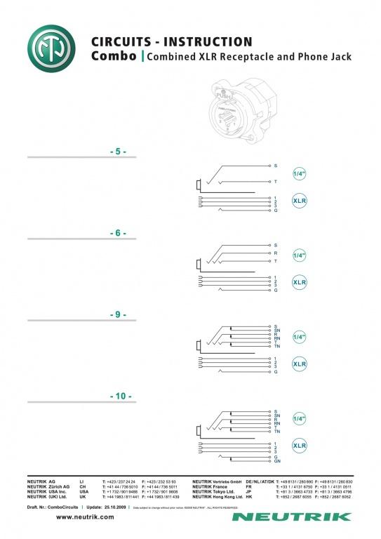neutrik trs wiring diagram 2004 chevy silverado 2500hd radio - somurich.com