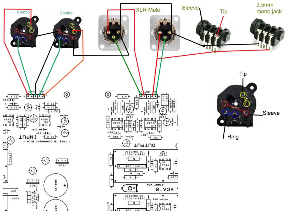"neutrik ncj6fis combo xlr/1/4"" stereo jack nonswitching"