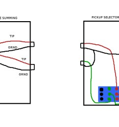 passive pickup system on stereo bass guitar and problem with pedals boxes jpg [ 1024 x 768 Pixel ]