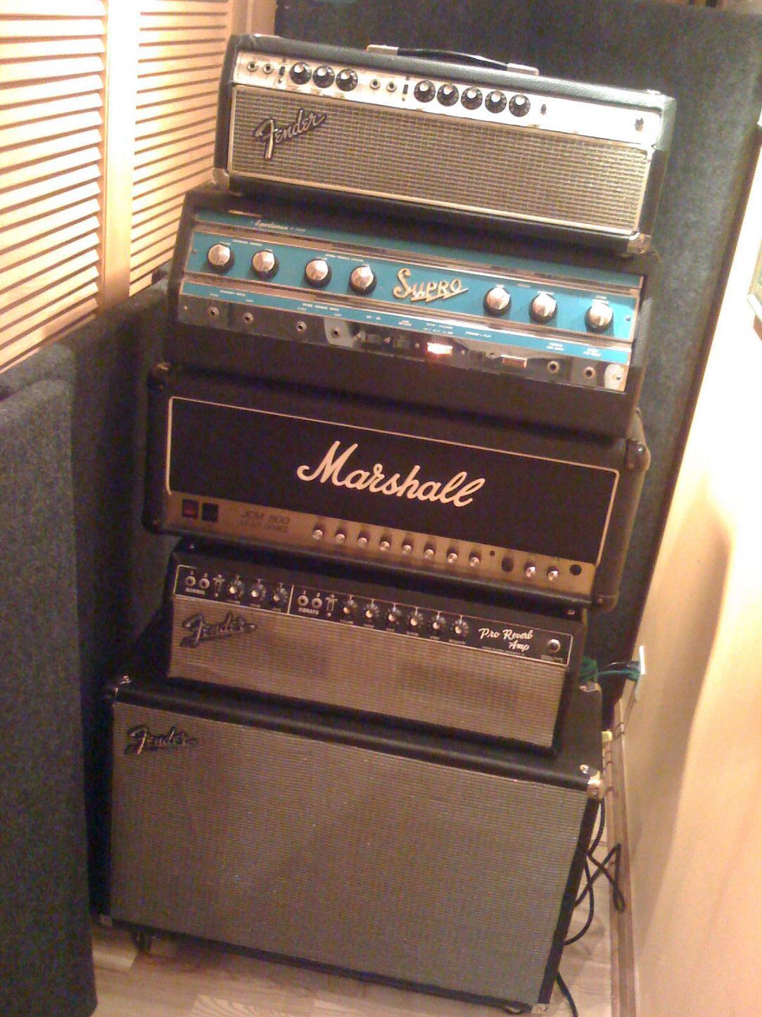 Rack Mount Guitar Amp Selector