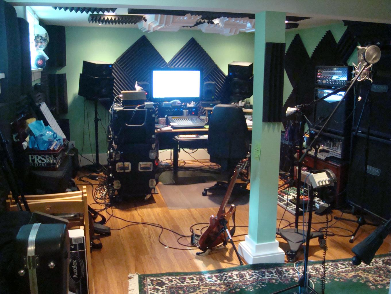 Post pics of your home studios  Page 11  Gearslutz Pro