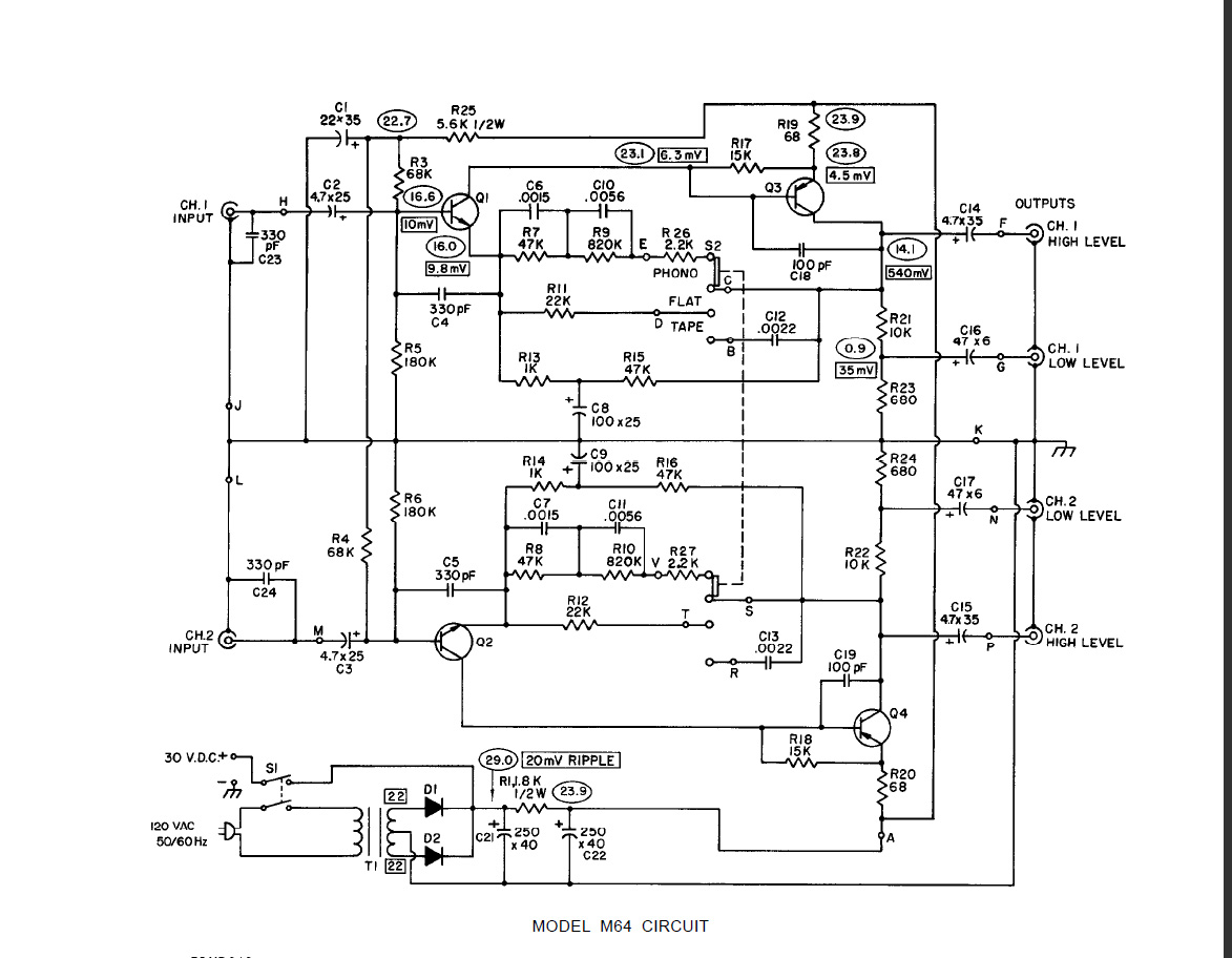 Mic Preamp Schematic