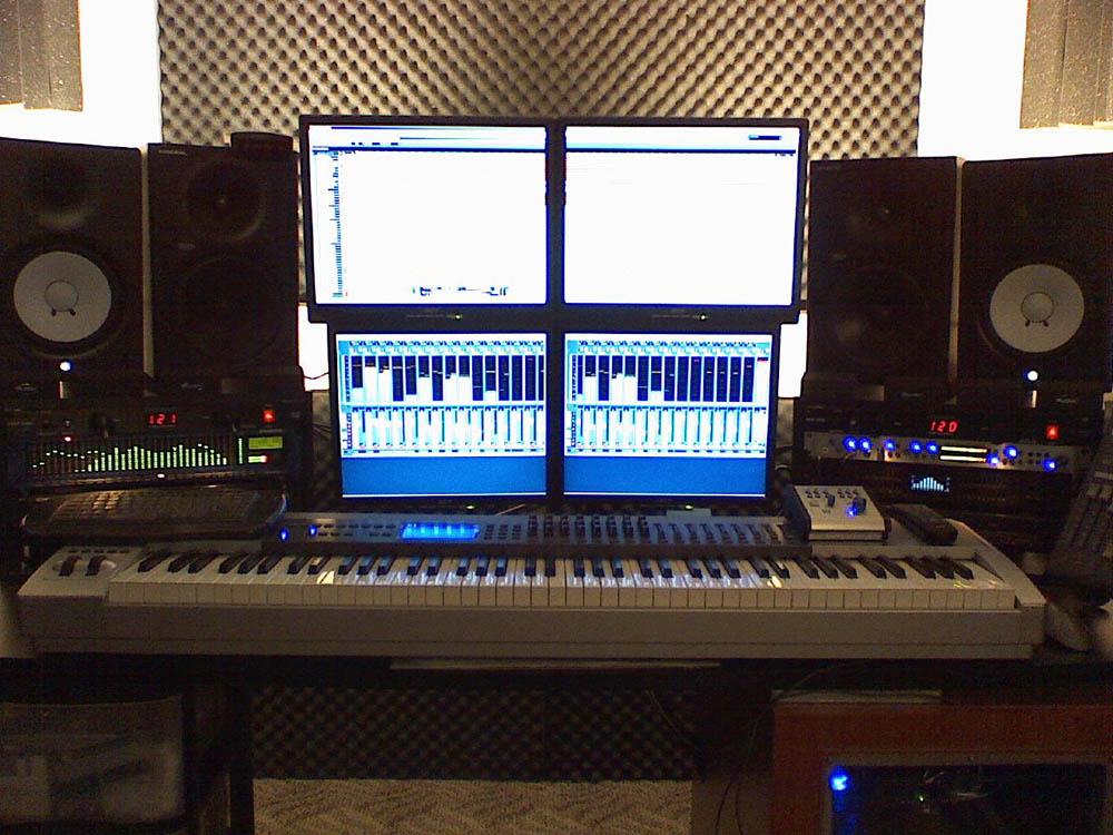 Studio Live Recording Setup 2010
