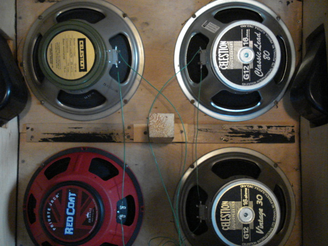 Guitar Wiring On Wiring A 4 X 12 Speaker Cabinet