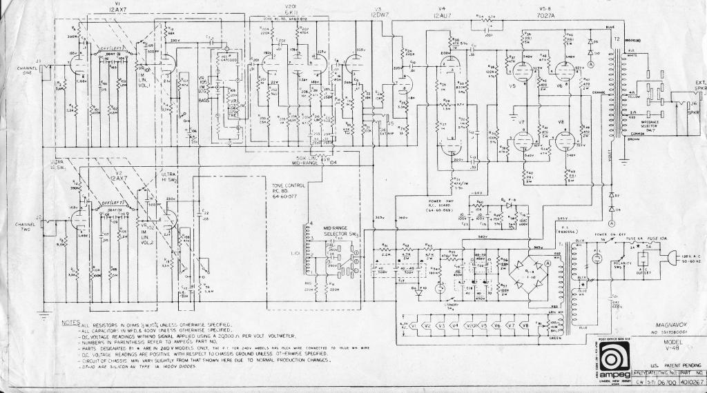 electronic laboratory technician repairs circuit board of tube