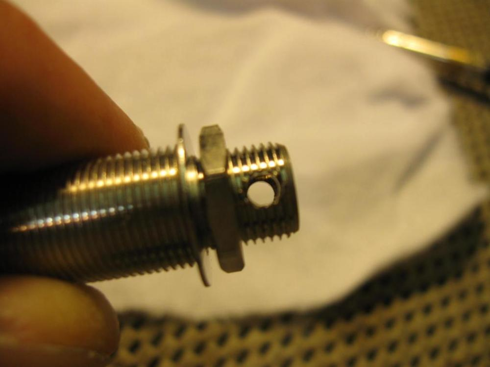 medium resolution of  tightening endpin jack on an archtop acoustic img 0338 jpg