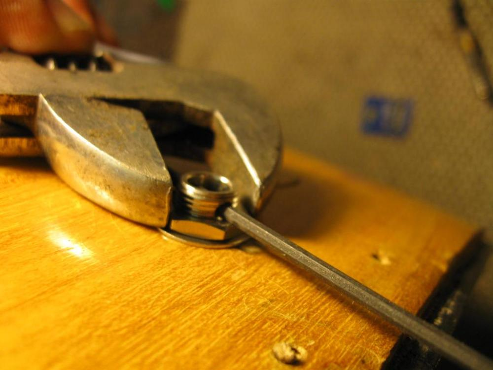 medium resolution of  tightening endpin jack on an archtop acoustic img 0343 jpg