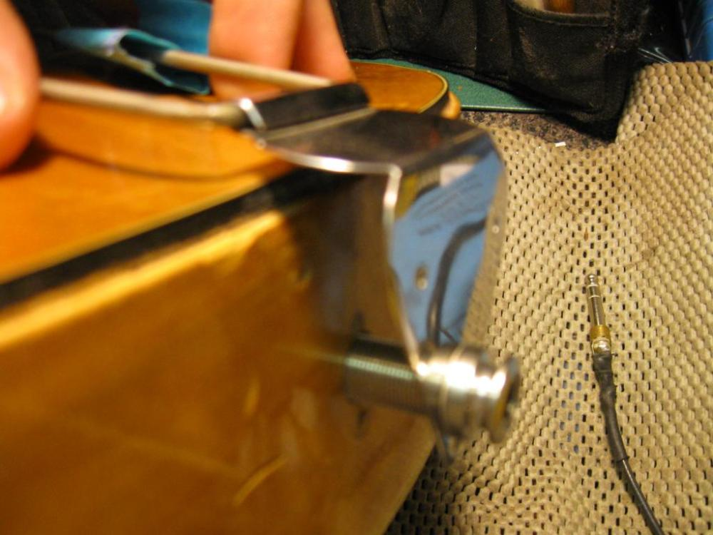 medium resolution of tightening endpin jack on an archtop acoustic img 0346 jpg