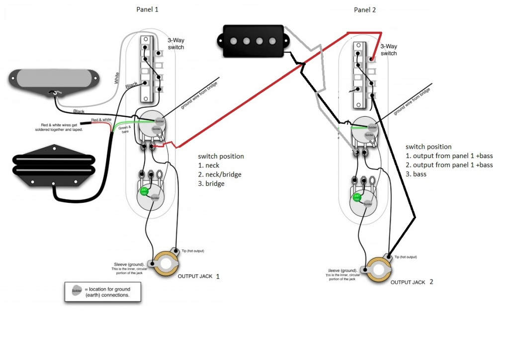 fender stratocaster wiring modifications