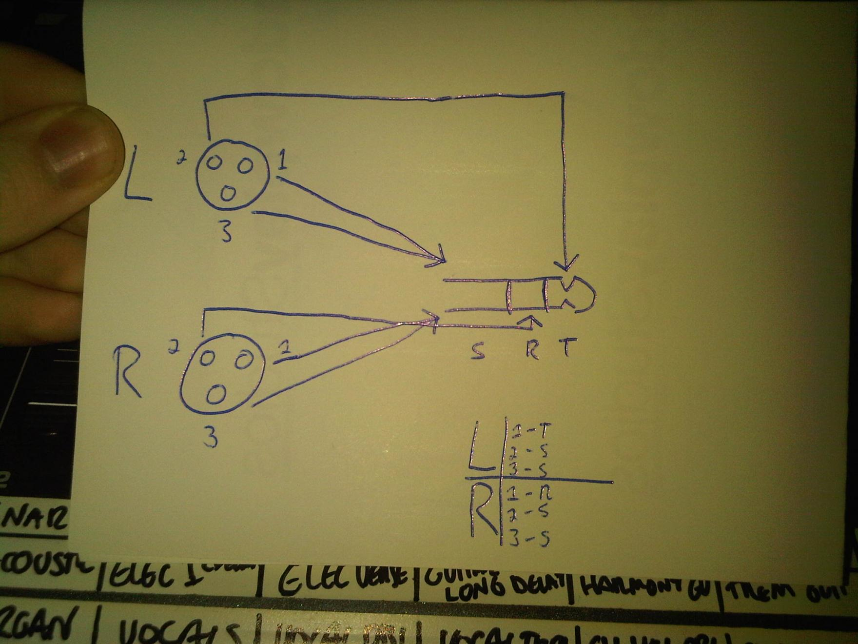 small resolution of 1 4 stereo jack wiring diagram