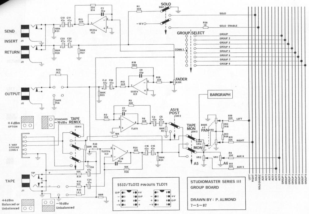 medium resolution of mixing desk schematic wiring diagram list mixing console schematic 80 s studiomaster console gearslutz mixing desk schematic