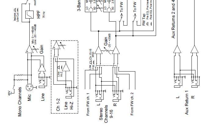 mackie wiring diagrams