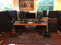 Show us pictures of your DAW workstation/desk set up ...