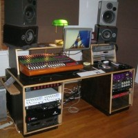 Show me your homemade or custom made console or studio ...