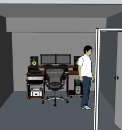 help with home studio mixing room layout studio 5 jpg [ 1435 x 765 Pixel ]