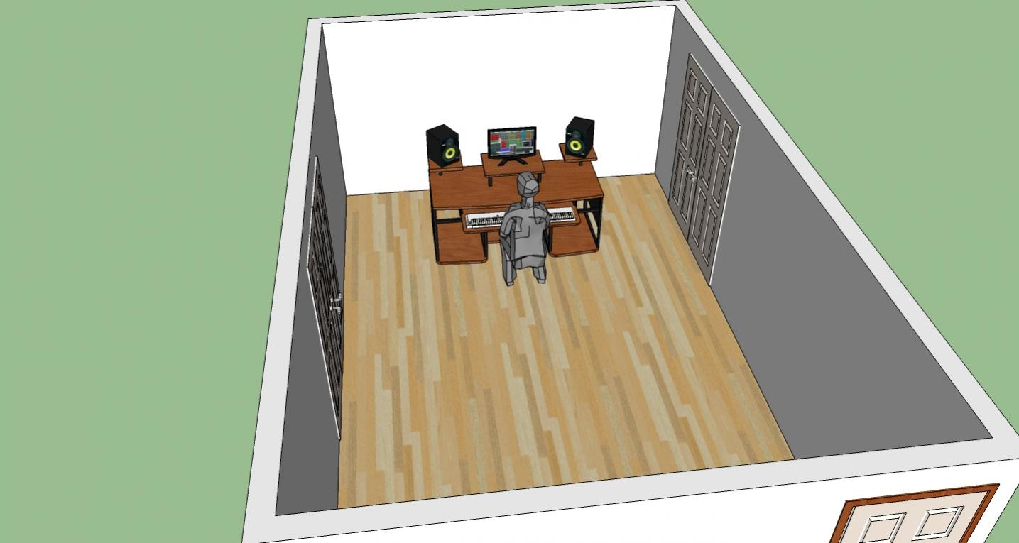 hight resolution of little studio layout ideas and suggestions front wall jpg