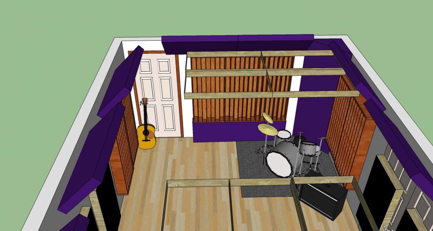 hight resolution of  little studio layout ideas and suggestions rear wall jpg