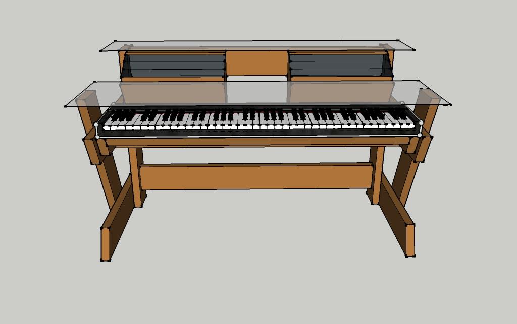 DIY Studio DeskKeyboard Workstation under 100