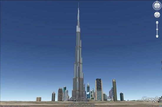 The tallest buildings in the world - Google Earth Blog