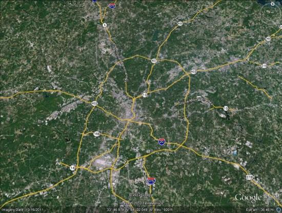 Google Earth A to Z: Roads - Google Earth Blog