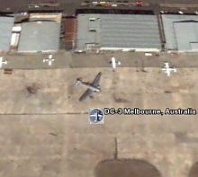 DC-3 DC3 Locations in Google Earth
