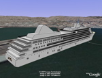 Track 3D Cruise Ships in Google Earth