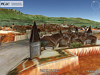 Solothurn in 1830 in 3D for Google Earth