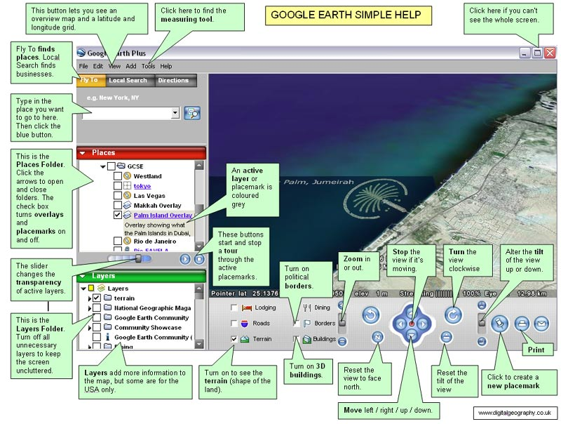 Google Earth Mouse Mat
