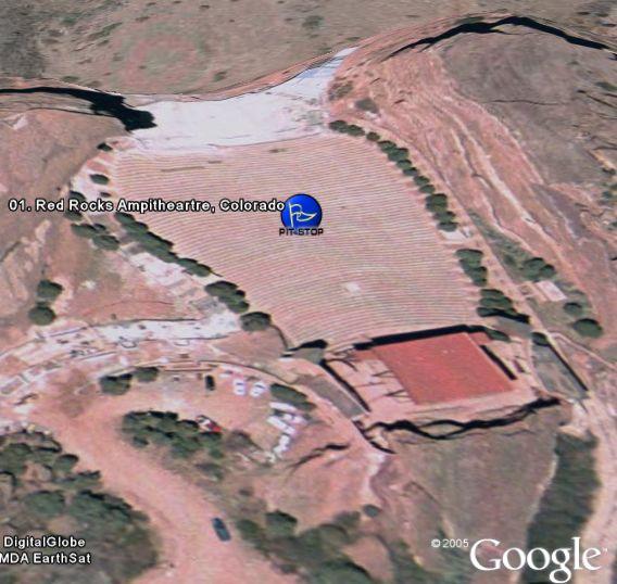 Amazing Race in Google Earth