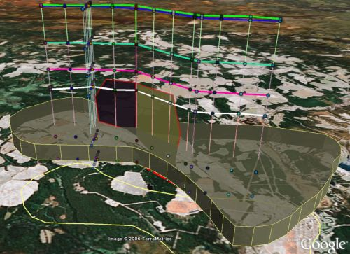 Oil and Geology in Google Earth