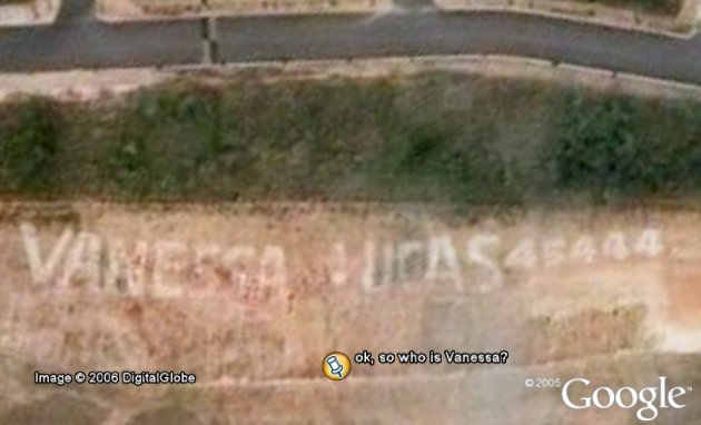 Who is Vanessa in Google Earth