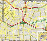Real-time Traffic in Google Maps
