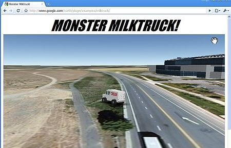 Monster Milktruck on Chrome