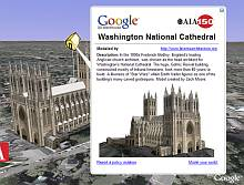National Cathedral AIA 150 3D Model in Google Earth