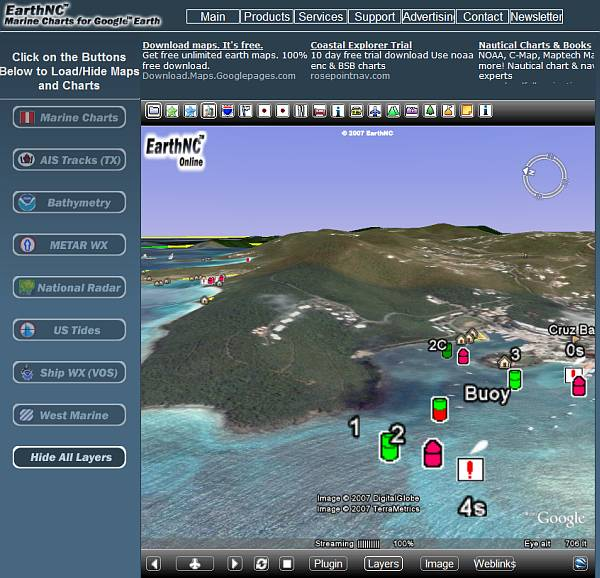 EarthNC Releases Browser-based Google Earth Content - Google
