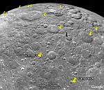 Moon on Google Earth