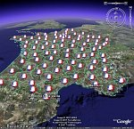 French Presidential Elections in French Google Earth