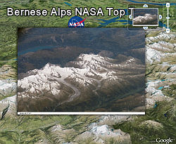 NASA Top Ten Photos in Google Earth