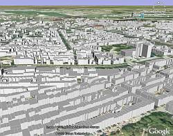 Amsterdam 3D Buildings in Google Earth