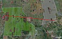 GPS phone in Google Earth
